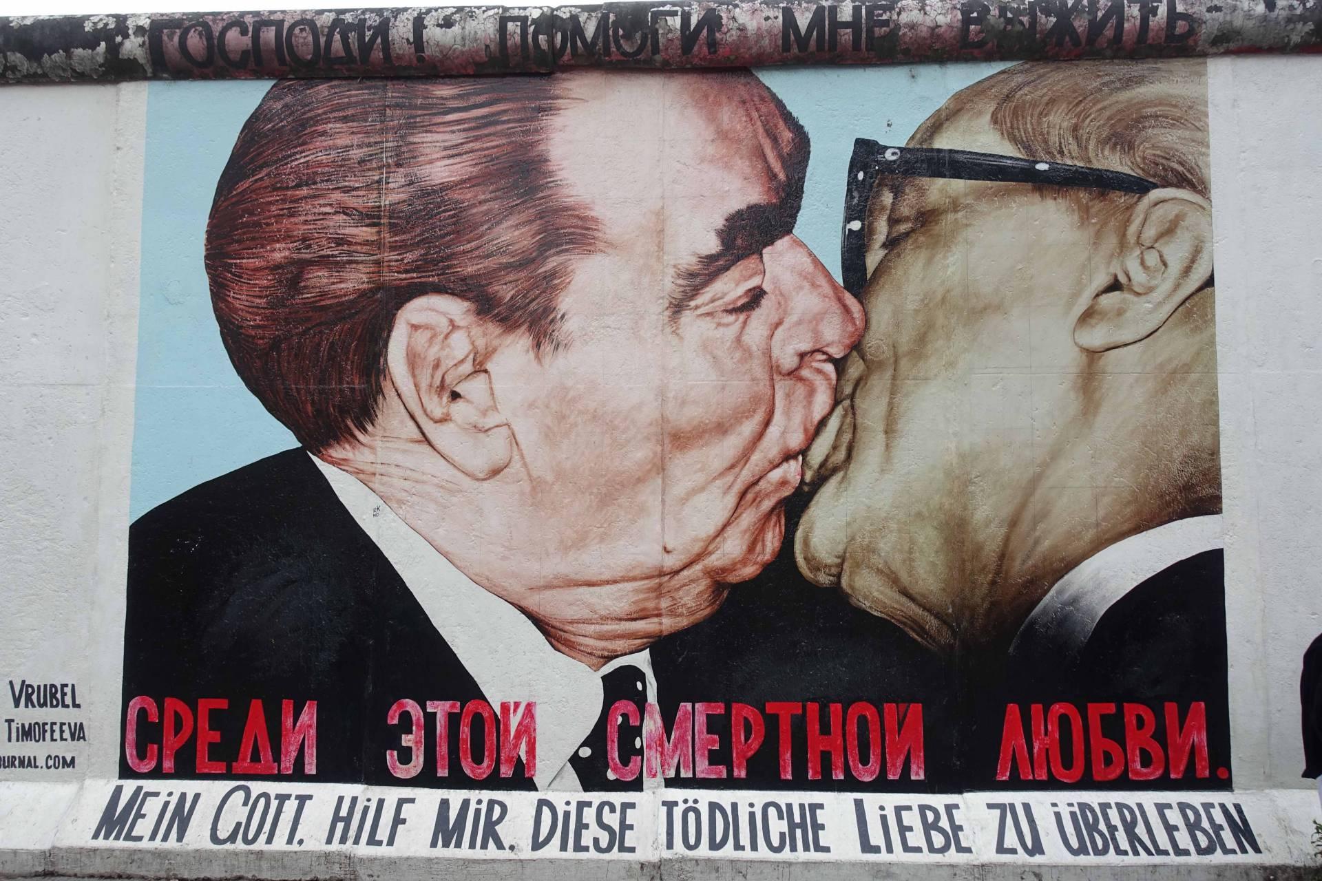 DDR-vibbar I Berlin 30 år Efter Murens Fall