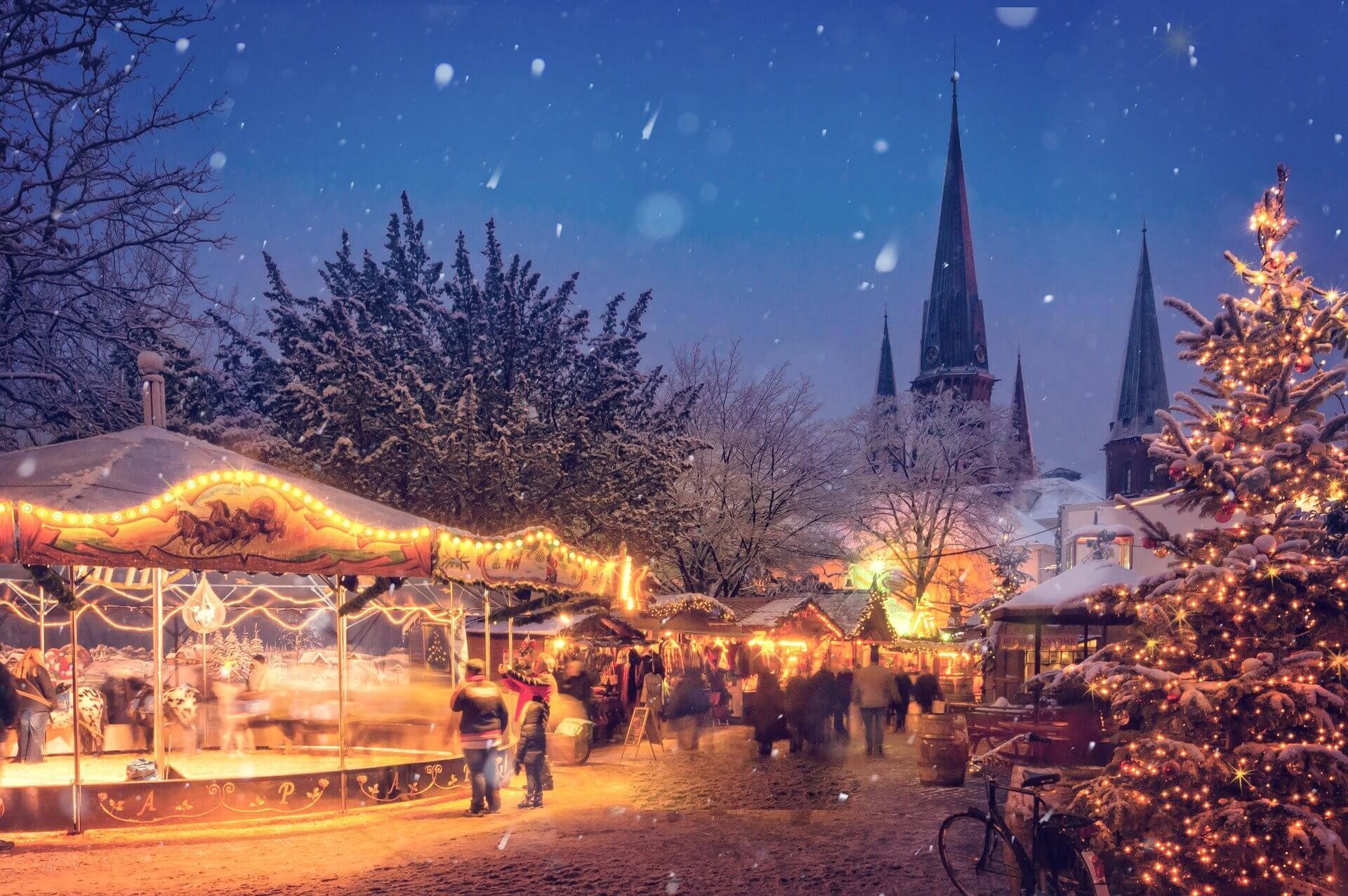 Det finns många trevliga julmarknader i Tyskland