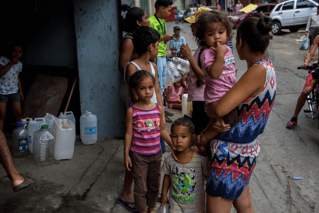 Bortskänkes: Venezuelas Barn