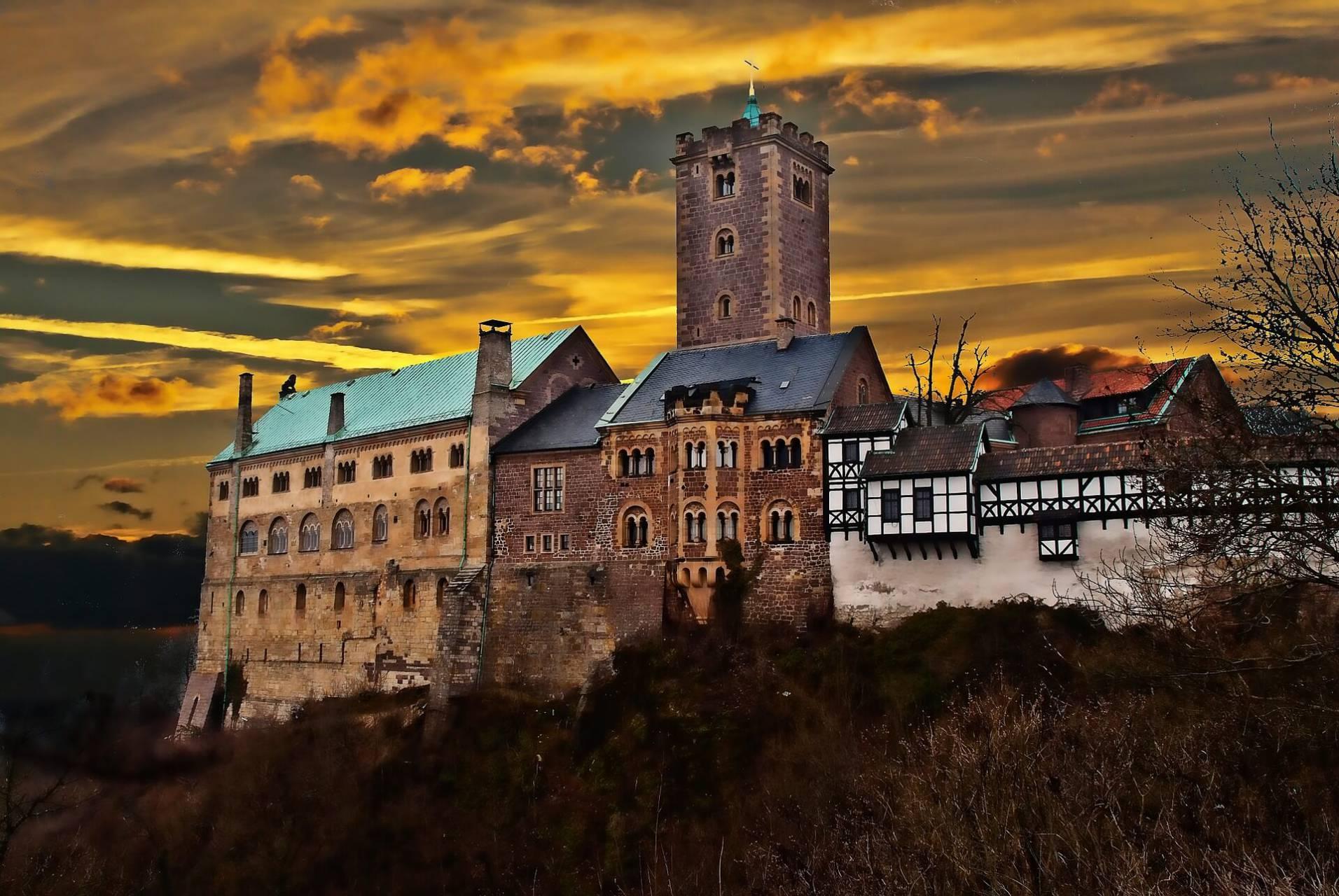 Borgen i Wartburg Foto: Klaus Dieter vom Wangenheim Pixabay