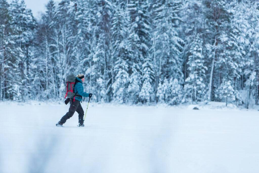 Maria Atterving vandring Sörmlandsleden etapp 17