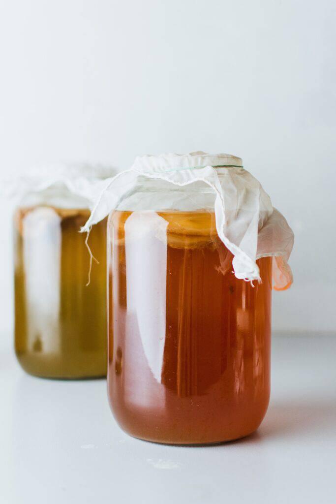 Fermenterad dryck, kombucha