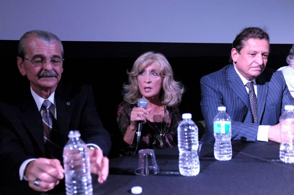 Nelson Andreu Sr., Edna Buchanan, Sam Burstyn