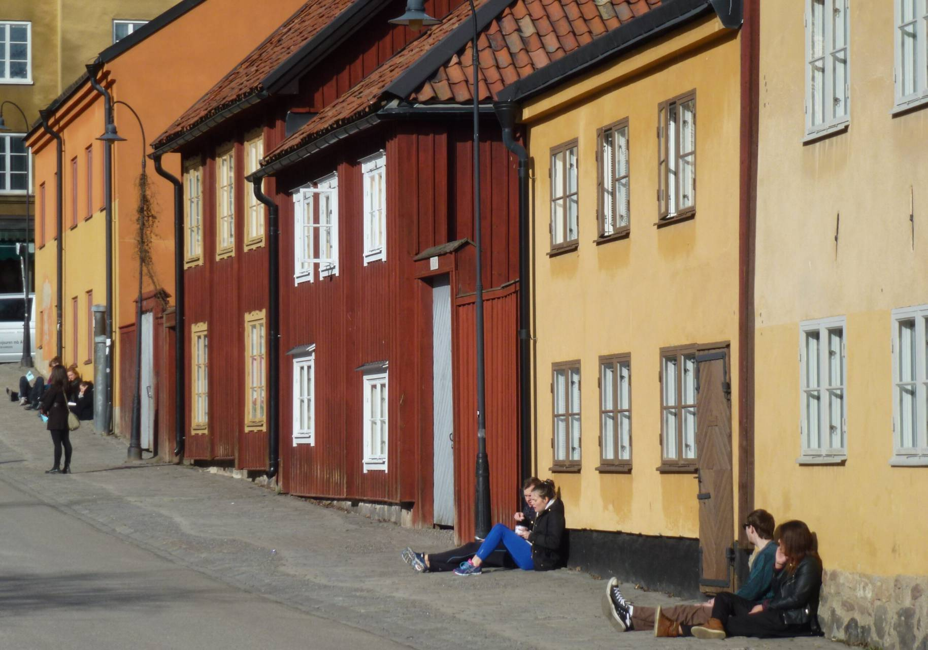 Fasad vid Nytorget