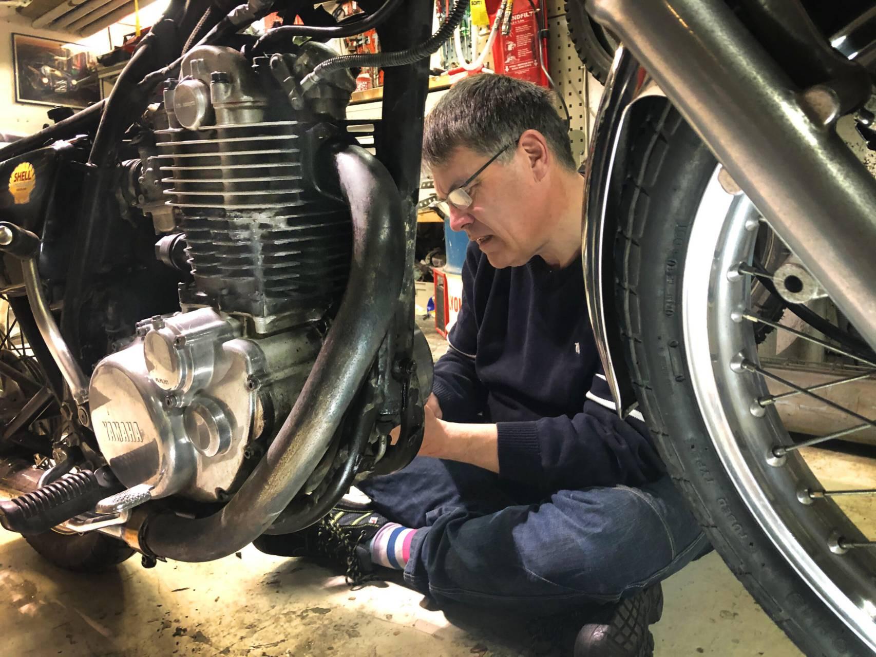 Nu är det dags att vårfixa motorcykeln