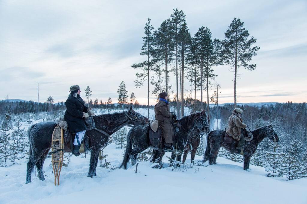Toppjakt på Orre o Tjäder med Udda Äventyr i Bränntjärn, Norrbotten, Sverige