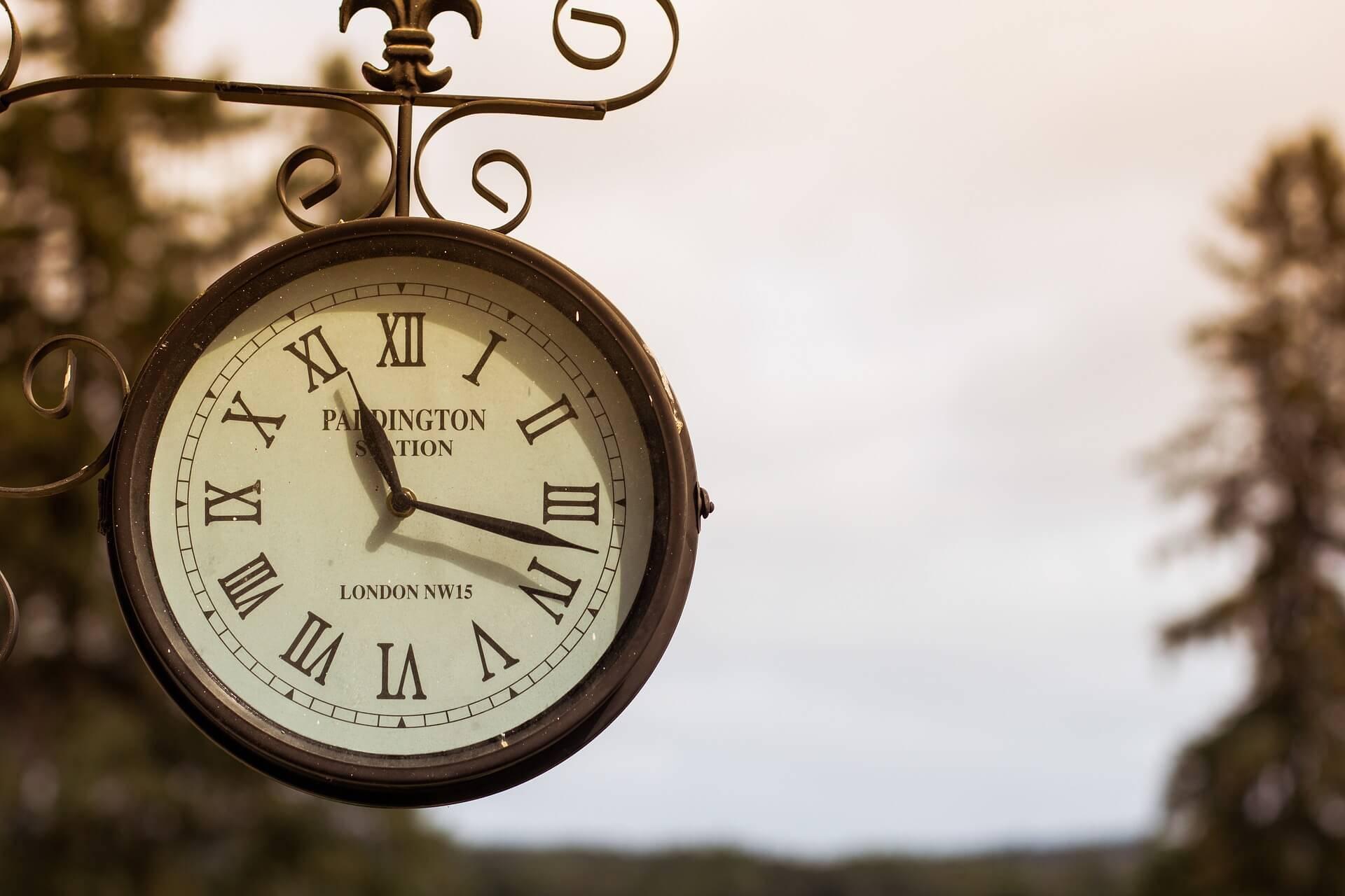 Har Du Tid? Tankar Om Vårt Skiftande Förhållande Till Tiden