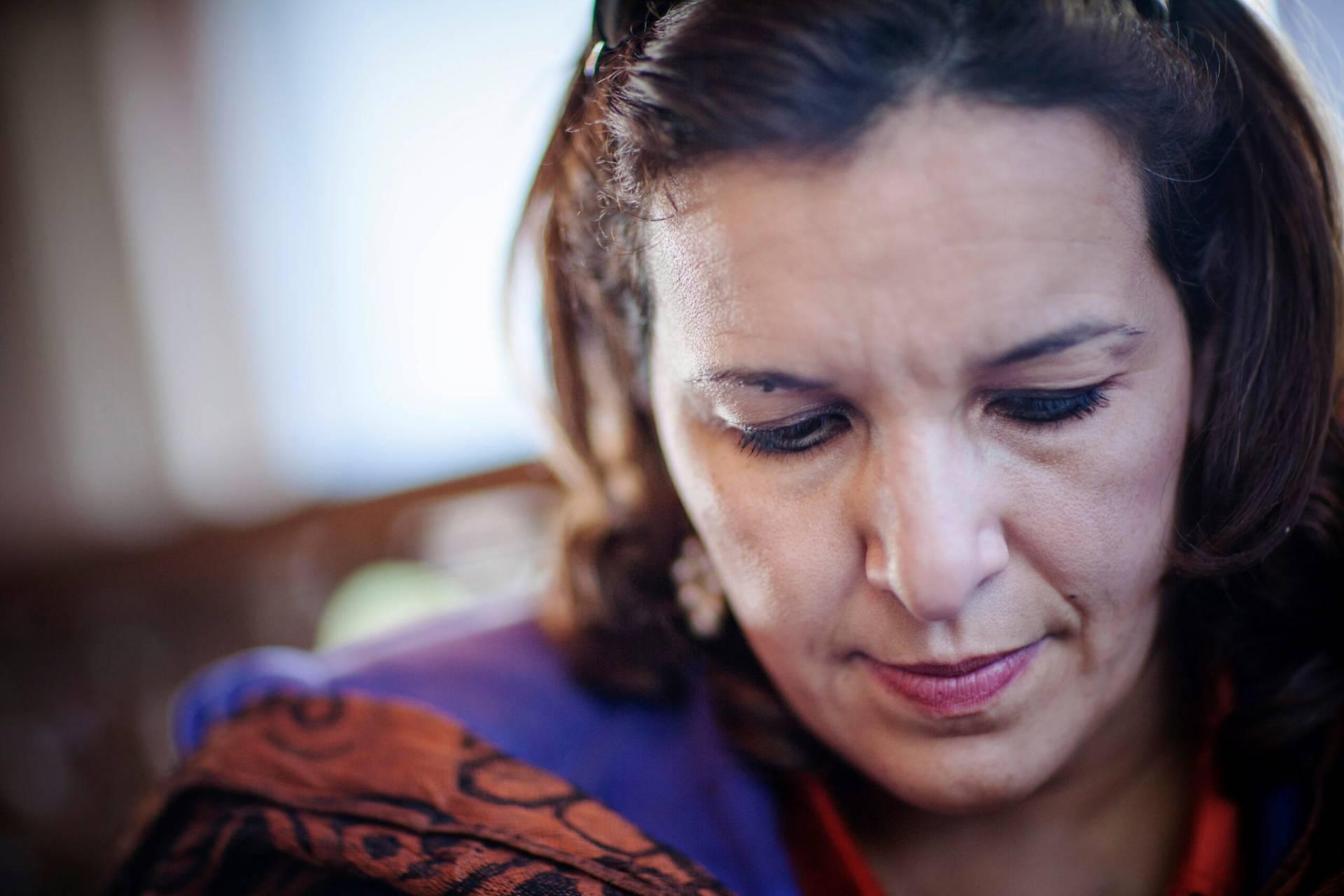 Hana Sadik Galal var bara drygt trettio år när hon var med och ledde upproret i Libyen.