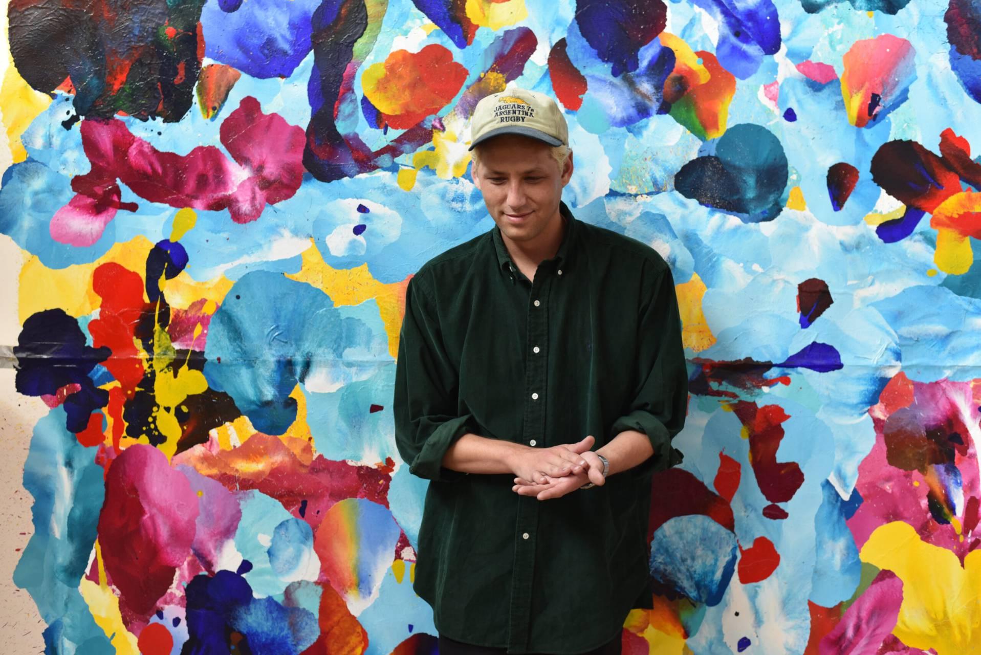 Konsten Hjälpte LA-konstnären Michael Gittes Att Ta Sig Ur Djupa Krisen