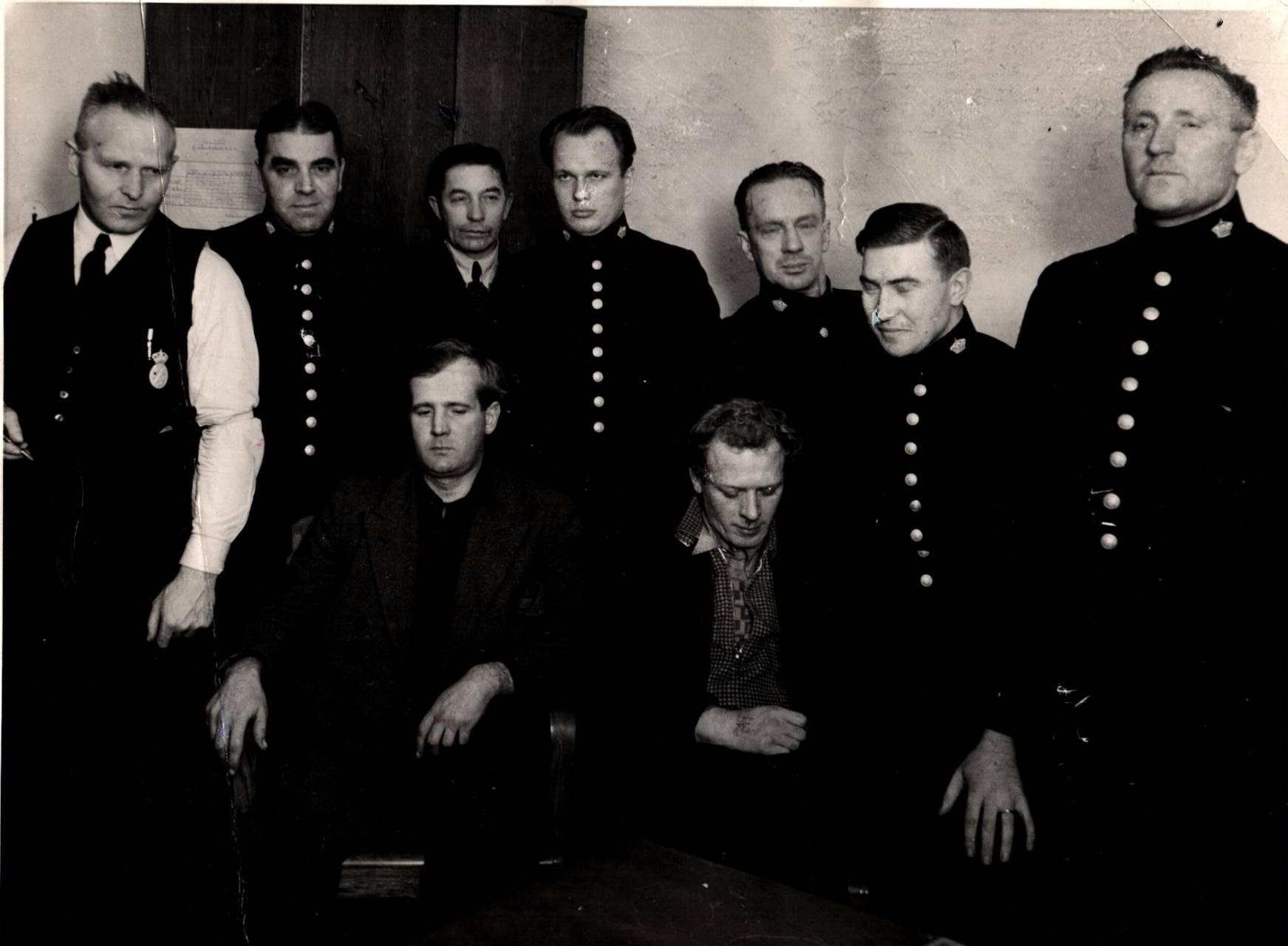 Bildsköne Bengtsson och Tatuerade Johansson tillfångatagna