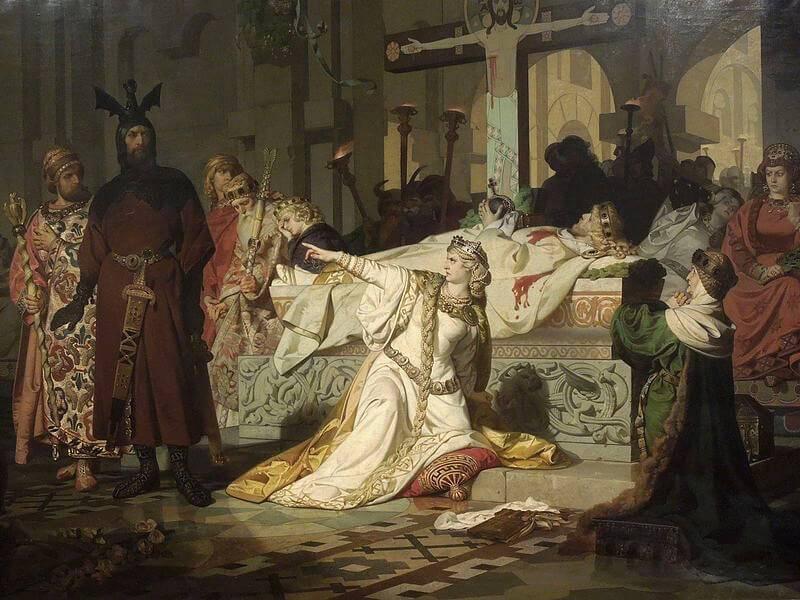Ett Franskt Game Of Thrones – Mordiska Merovinger
