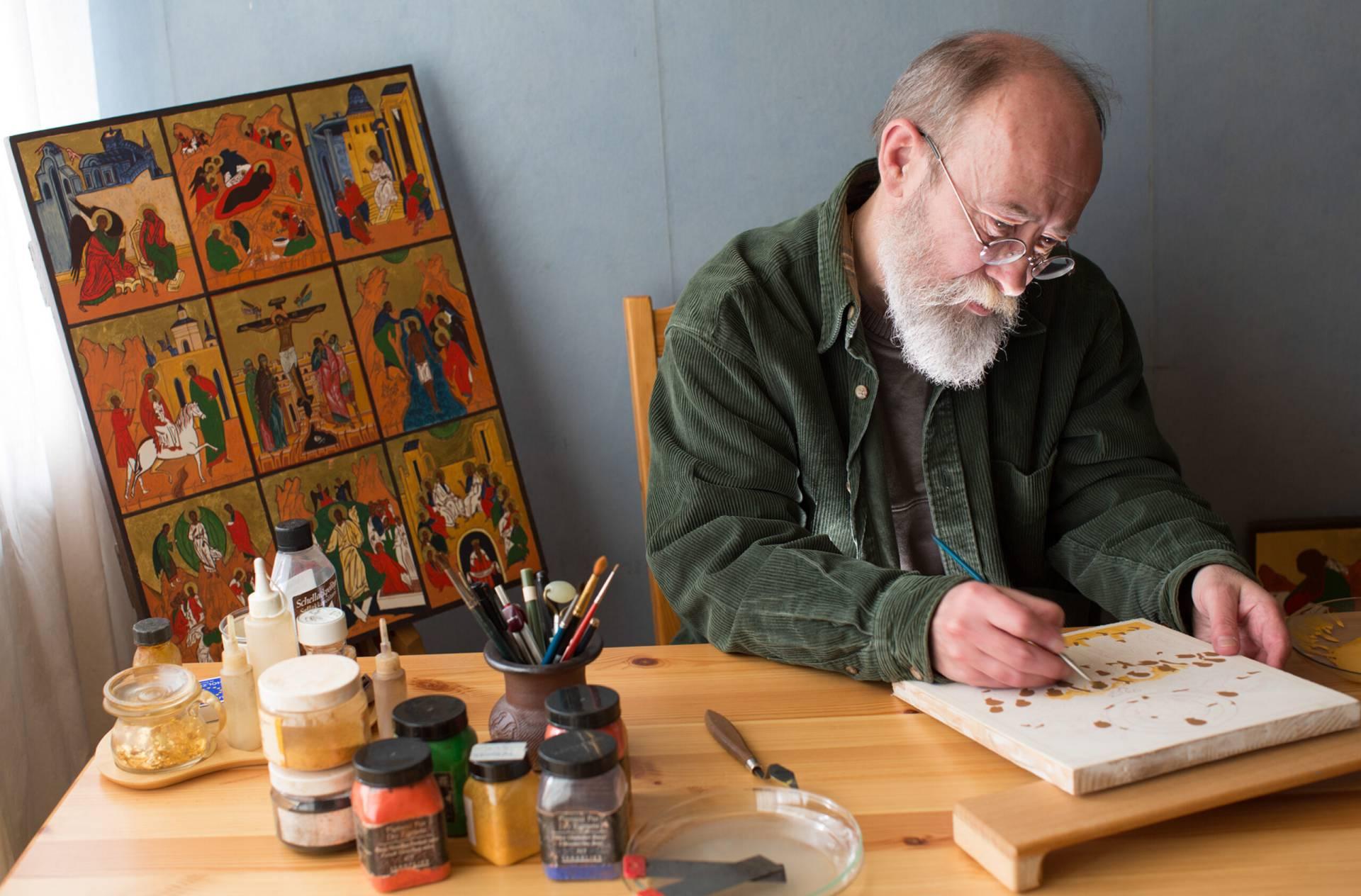 Ikonmålaren Alexander Deriev