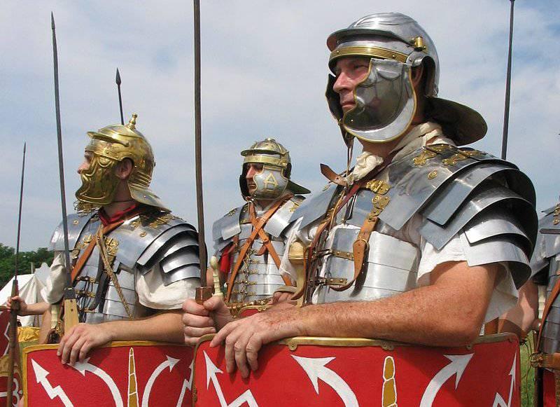 Raseri Norrifrån Hotade Den Romerska Republiken