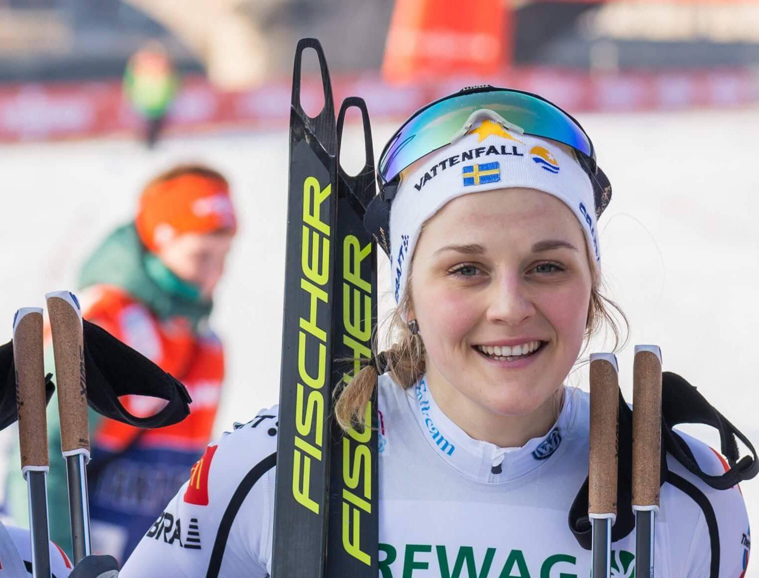 Stina Nilsson skidor