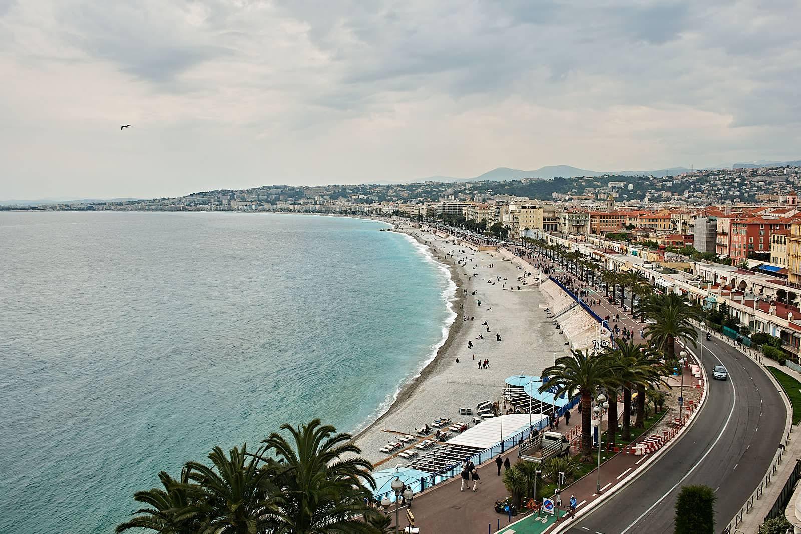 Stranremsan i Nice