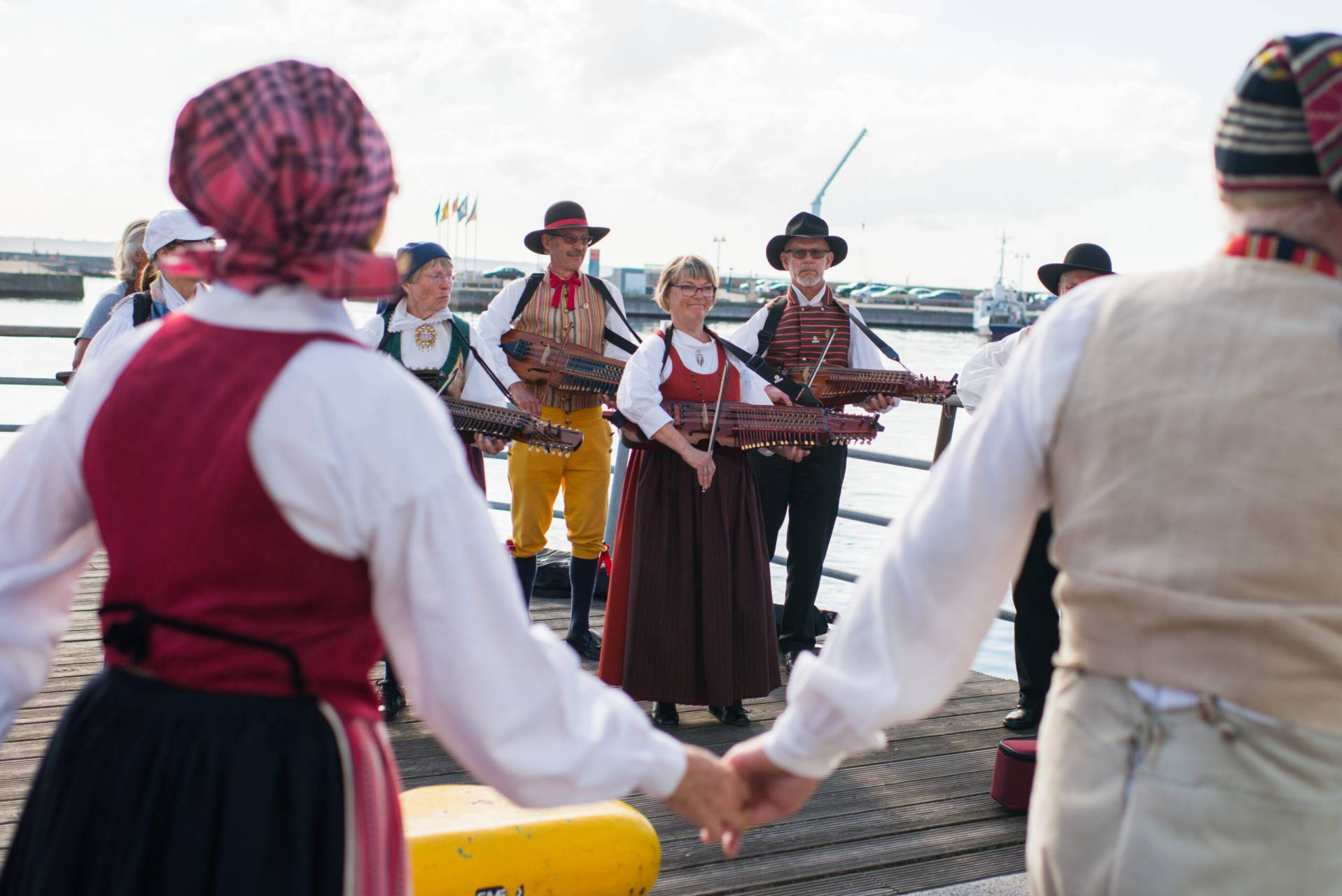 Svensk folkmusik konsert