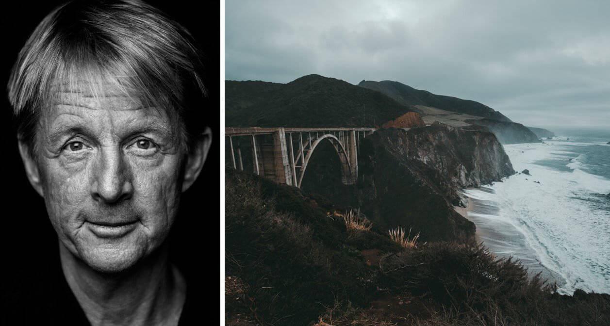 """Bild: Porträtt av Björn Natthiko Lindeblad, bild 2: Brixon bridge från """"Big Little lies"""""""